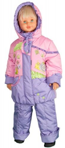 Куртка для девочки с рисунком № 238