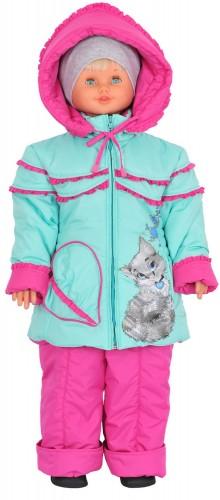 Детская куртка для девочки № 262