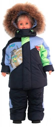 Зимняя куртка для мальчика № 253