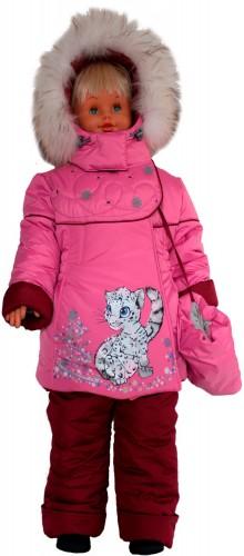 Зимняя куртка для девочки № 255