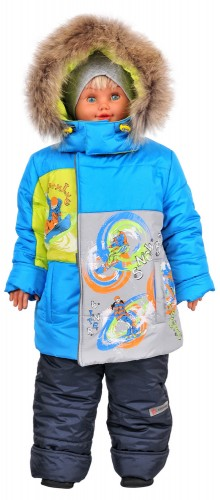 Зимняя куртка для мальчика № 256