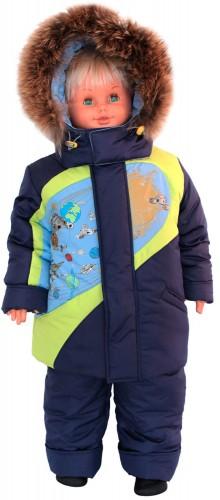 Зимняя куртка для мальчика № 258