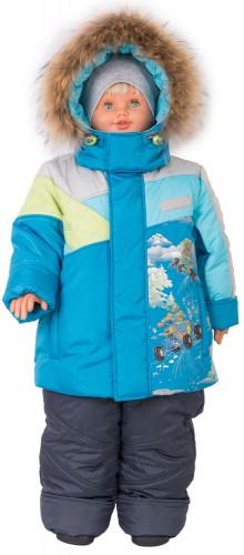 Куртка для мальчика зима № 264