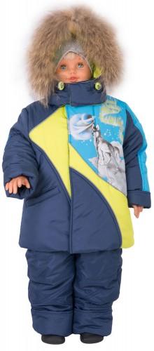 Зимняя куртка для мальчика № 265