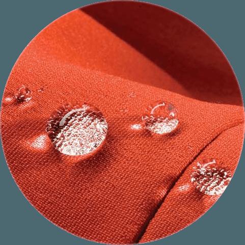 Является ли ткань в продукции Lemming непромокаемой?